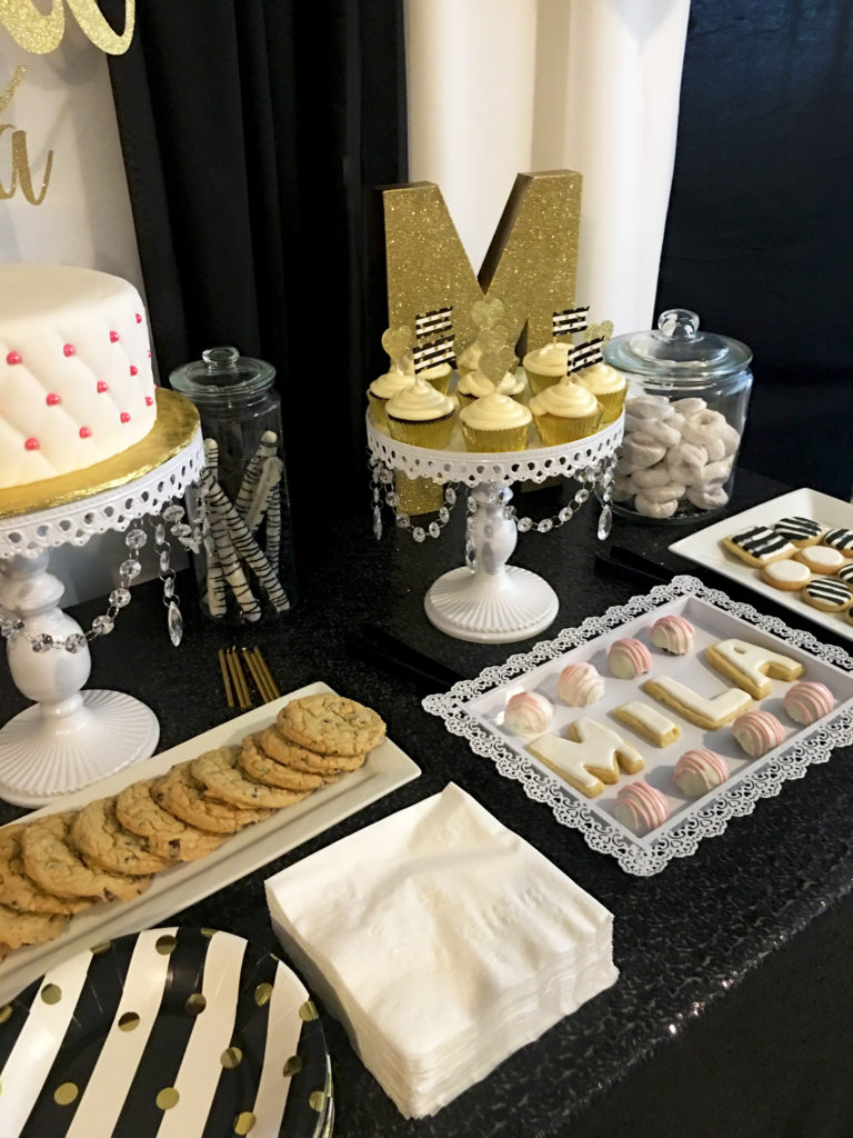 Sephora-inspired theme for Mila's birthday party created by Event by Emerson